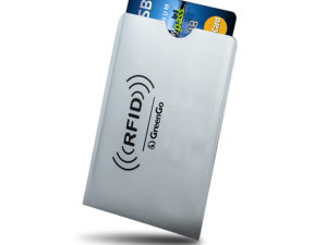 GREENGO Θήκη Paypass προστασίας ασύρματης ανάγνωσης πιστωτικών καρτών