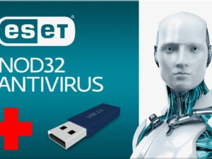 ESET NOD32 Antivirus 5 1U/1Y + USB 8GB