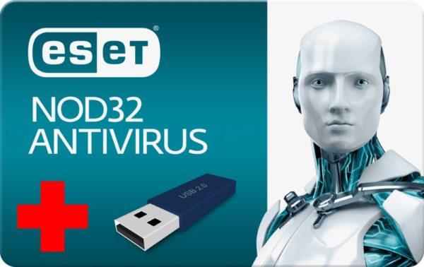 ESET NOD32 Antivirus 5 1U/1Y + USB 8GB