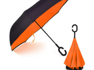 Ομπρέλα Kazbrella αντίστροφης δίπλωσης
